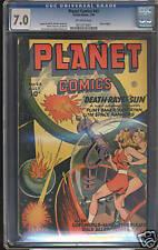 Planet Comics #43  CGC 7.0  FN/VF  Universal CGC #0010315001