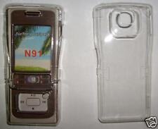 Clear Nokia N91 Express on cover, fascia NEW UK seller, cover only