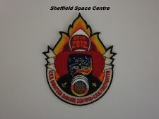 Space Above & Beyond USS Saratoga Damage Control USM Firefighter Patch (P272)
