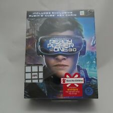 Ready Player One BLU-RAY 2D & 3D Combo Slip Case w/ Cube key chain