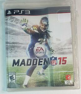 EA Sports Madden 15 PlayStation 3 PS3 2014
