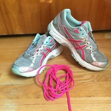 ASICS Gel GT-1000 Gray with Pink Running Shoes Women's Size 6.5 T4K8N