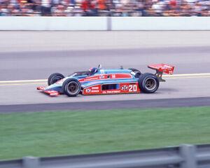 1982 STP Cosworth GORDON JOHNCOCK Glossy 8x10 Photo Indianapolis 500 Print