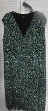 """Women's Plus Size 20,  Slighty A-Line Style Dress by """"Glamour."""" Multicolors"""