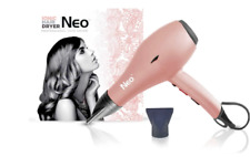 Neo Ionic Pro 'Soft Touch' Hair Dryer Metallic Rose Gold