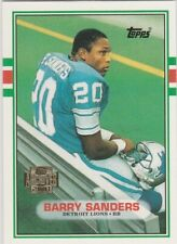 BARRY SANDERS 2001 Topps Archives RP ROOKIE CARD Detroit Lions Football RC