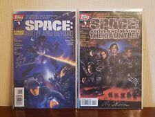 Space: Above and Beyond & The Gauntlet #1 Comics (Signed Roy Thomas W/COA) - NM