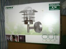 BN Boxed Stainless Steel Outdoor Light by Ranex