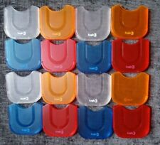 16 x  UMD Cases for PSP (4 x Clear, 4  x Orange, 4 x Blue and 4 x Red)