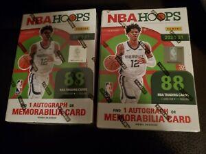 *SEALED* LOT (2) 2020-21 PANINI NBA HOOPS HOLIDAY BASKETBALL CARD BLASTER BOXES