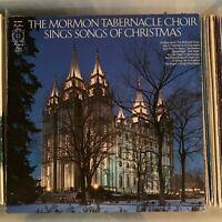 Mormon Tabernacle Choir - Sings Songs Of Christmas  - NM vintage 1967 vinyl LP