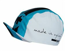 Cycling Cap ASSOS MILLE Blue & White Made In Italy 100% Cotton