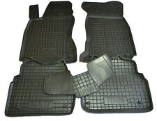 SKODA SUPERB 2002-2008 Rubber Car Floor Mats All Weather Alfombrillas Goma