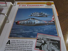 Faszination 4 161 Republic F 84 Thunderjet Bomber USA