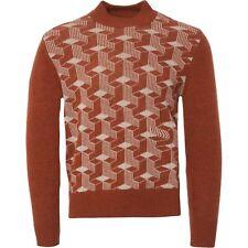 Levi's Vintage Clothing Sportswear estrictamente Rocker's Tortuga Jersey de cuello (M) NUEVO