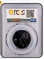 2008 Australian Decimal 20 Cent  PCGS Grade Uncirculated MS69 FDC