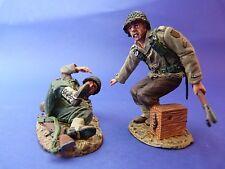King & Country (retired) - D.DAY 44 - DD095 - Soldat américain à la rescousse