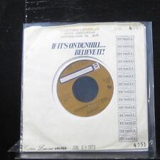 "John Kay - Moonshine 7"" Mint- D4351 Vinyl 45 Canada 1973 Dunhill"