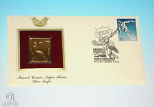 Silver Surfer Gold Edition USPS Stamp First Day Issue Marvel Comics 2007 Kirby