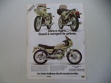 advertising Pubblicità 1982 MOTO GUZZI V65 V 65 SP