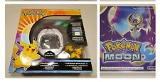 Nintendo 3DS Pokemon Moon Game & Pokemon Z-Ring With Crystals (2016)