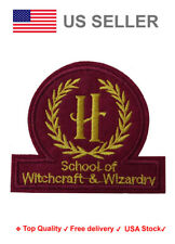 School of Witchcraft and wizardry  Iron On / Sew On Patches hogwarts Embroidery