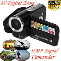 "1.5"" TFT LCD Digital Video Camcorder 16MP 8X Digital Zoom HD 1080P Camera DV"