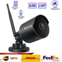 1080P Security Camera Outdoor Wireless Wifi Motion Detected IR-Cut Night Vision