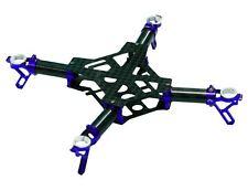 ZealHeli Blade Nano QX Blue CNC Aluminum / Carbon Fiber Frame NQX001B