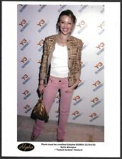 ~ Vocalist Kylie Minogue Original 1990s Color Candid Press Photo 1990s Fashion