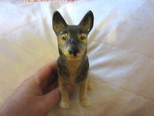 "SylvaC Pottery 6"" German Shepherd Alsatian Dog Figurine #3321 England NR"