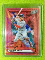 MOOKIE BETTS CARD JERSEY #50 RED SOX SP #/25 SSP REFRACTOR 2019 National VIP SSP