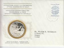 1979 Int'l Society of Postmasters Utrecht Union 400th Anniversary Silver Medal