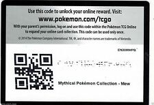 MYTHICAL Arceus COLLECTION BOX CODE CARD XY110 +2 Generations PACK Codes Pokemon