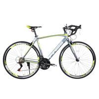 2021 Road Bike Shimano 28C 21 Speed Bicycle 700C Bikes 52cm aluminum Load 330LBS