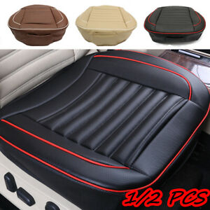 Leather Car Seat Cover 3D Breathable Comfortable Pad Cushion Chair Mat  * W!