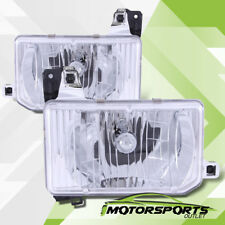 For 1987-1995 Nissan Pathfinder/1988 1989 Hardbody Pickup Chrome Headlights Pair