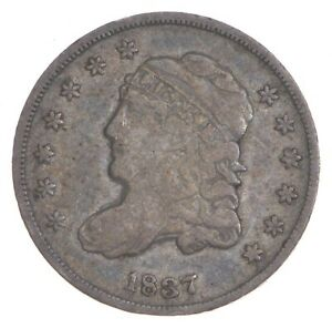 1837 Capped Bust Half Dime - Small 5C *7314