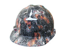 Cyber Skull MSA V-GUARD Cap Hard Hat