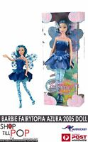 Barbie Fairytopia AZURA Doll 2005 Magical Glowing Wings BNIB