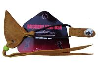 NEW TRADITIONAL FINE CAMEL SUEDE LEATHER BOW STRINGER AA402CM