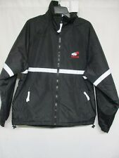 Tri-Mountain Men's Polyester Full zip Reflective Tape Working Jacket Sz L  S8835