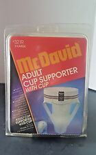 Mc David Vintage Adult Cup Supporter with Cup #321R  X-LARGE (1995)
