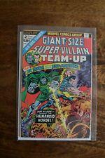 Giant Size Super-Villain Team-Up (1975) #2 Marvel FN/FN+