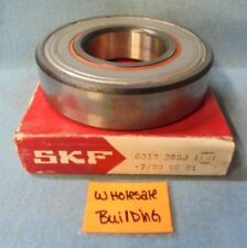 SKF 6312-2RSJEM RADIAL DEEP GROOVE BALL BEARING 6312 C3, 60 X 130 X 31 MM