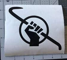Half Life Freedom Gordon Freeman vinyl decal crowbar for cars,trucks,windows