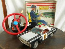 Nomura Toy Police Tin Car Highway Patrol 965 Battery Operated Remote Control JPN