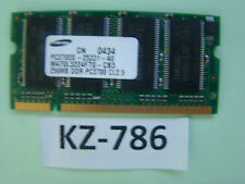 256MB Samsung DDR1 Laptop RAM PC2100s 266mhzso-dimm M470L3224FT0-CB0 #kz-786