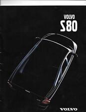 VOLVO S80 SALES BROCHURE MARCH 1999