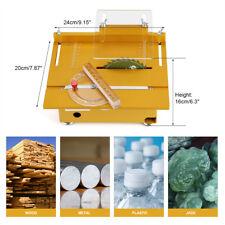 Klein Tischkreissäge Kreissäge Holzsäge Table Saw DIY Holzbearbeitung 7200RPM mj